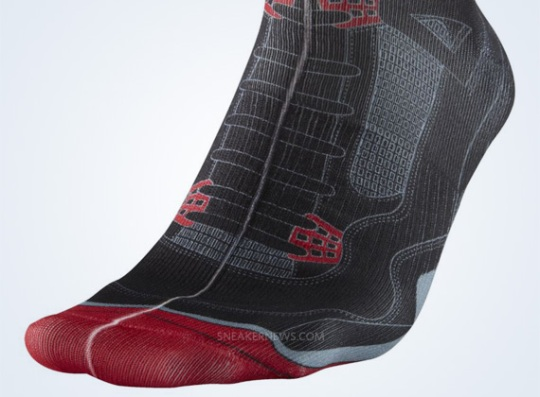 "Air Jordan IV ""Bred"" Socks"