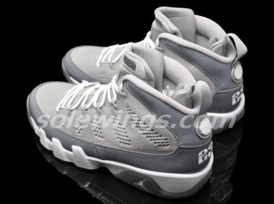 """""""Cool Grey"""" Air Jordan 9 – New Images"""