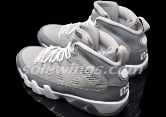 """Cool Grey"" Air Jordan 9 – New Images"
