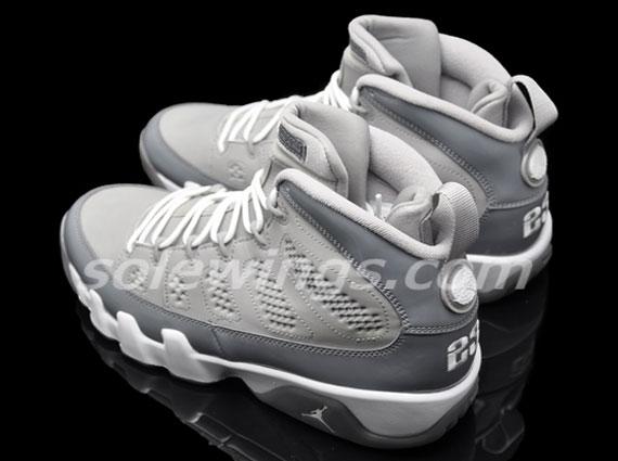 """premium selection c5540 e9b9b """"Cool Grey"""" Air Jordan 9 – New Images"""
