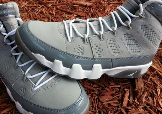 """Cool Grey"" Air Jordan IX Retro"