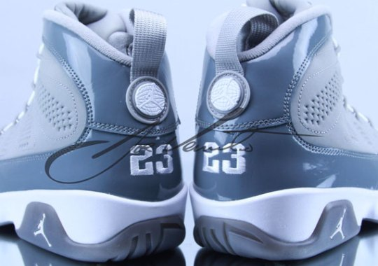"Air Jordan IX ""Cool Grey"""