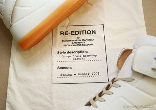 H&M x Maison Martin Margiela Trompe L'oeil High-Top
