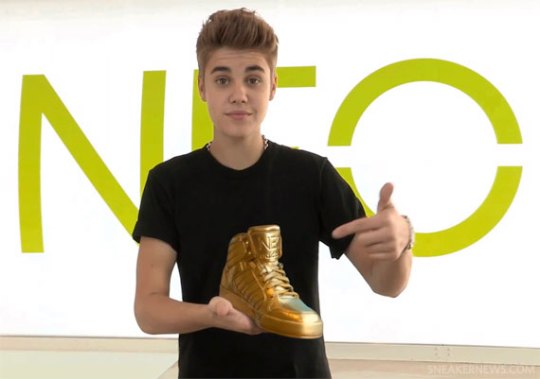 "Justin Bieber x adidas NEO ""Find My Gold Shoes"" Contest"