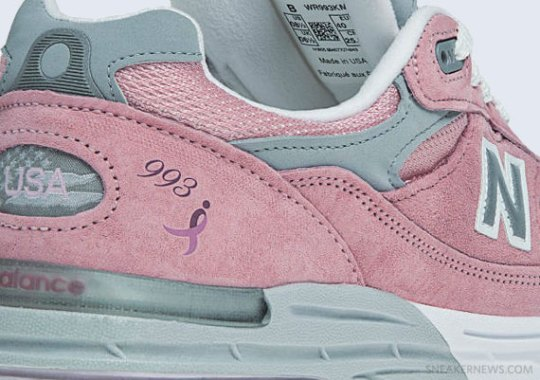 Lace Up for The Cure x New Balance 993