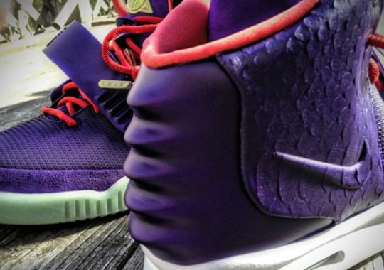 """Nike Air Yeezy 2 """"Kobe"""" Customs by Mache"""