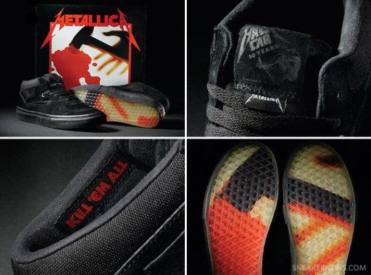"""Metallica x Vans Half Cab """"Kill Em All"""" – Available"""