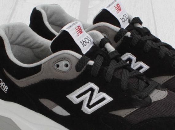 new balance 1600 black grey