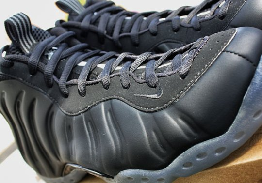 """Nike Air Foamposite One """"Stealth"""" – Detailed Images"""