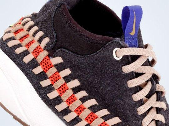 Nike Air Footscape Woven Chukka – Grey – Orange – Purple