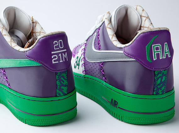 """Nike Air Force 1 Bespoke """"Ray Allen"""" by"""