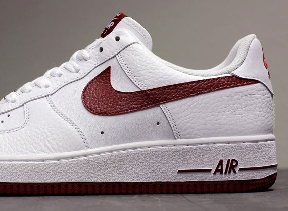 Nike Air Force 1 Low Team Red White