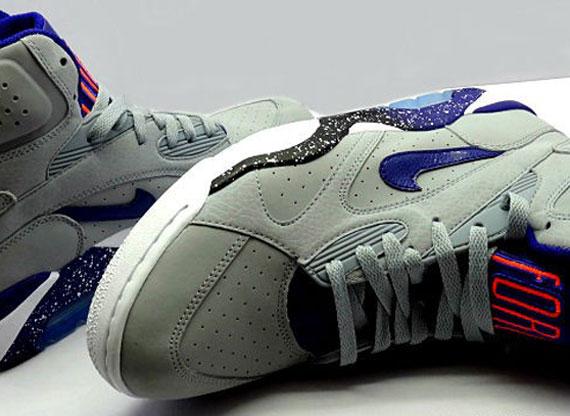low priced 9838a e8c69 Nike Air Force 180 High – Grey – Royal – Orange