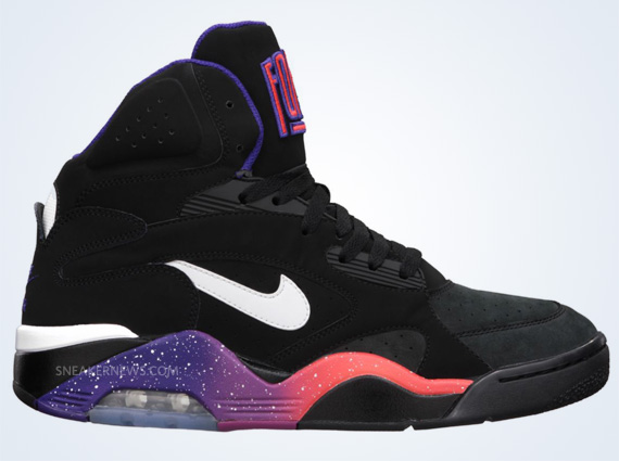 nike air force 180 mid black