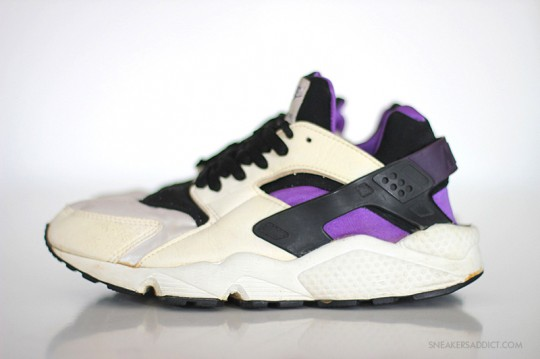 Nike Air Huarache Brown Purple