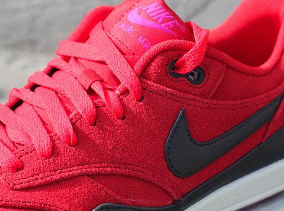 quality design 31ce8 67d99 Nike Air Max 1 Premium – Gym Red – Anthracite