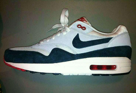 newest 1abc1 8bcd6 nike air max 1 white and red