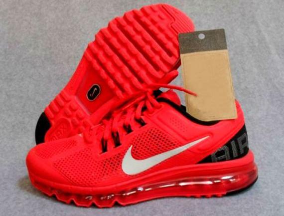 all red nike air max 2013