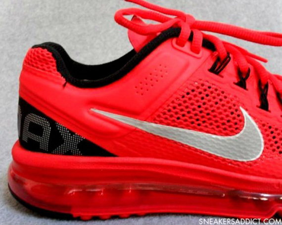 Nike Air Max Black And Red 2013
