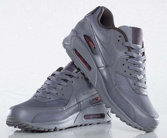 all grey nike air max