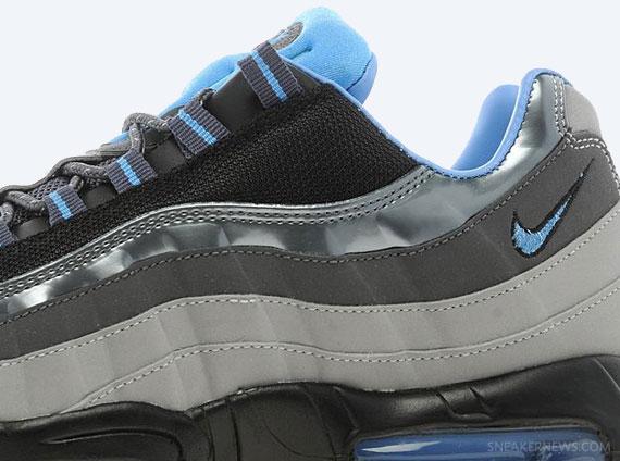 Nike Air Max 95 Dark Grey University Blue Black