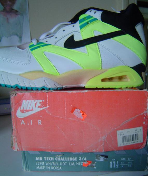 huge selection of 3b97a 8ba09 Nike Air Tech Challenge III (1990)