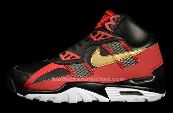 Nike Air Trainer Sc High Quot 49ers Quot Sneakernews Com