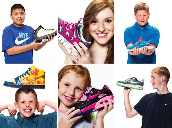 Nike x Doernbecher Freestyle 2012 Release Dates