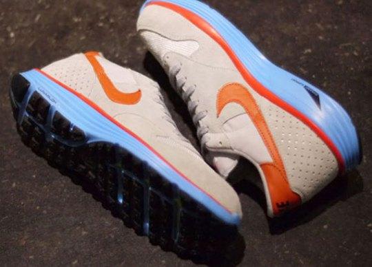 Nike Epic Vintage Lunar – Wolf Grey – Deep Orange