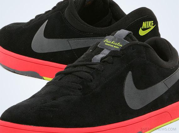 Nike Eric Koston Black Sunburst Atomic Green