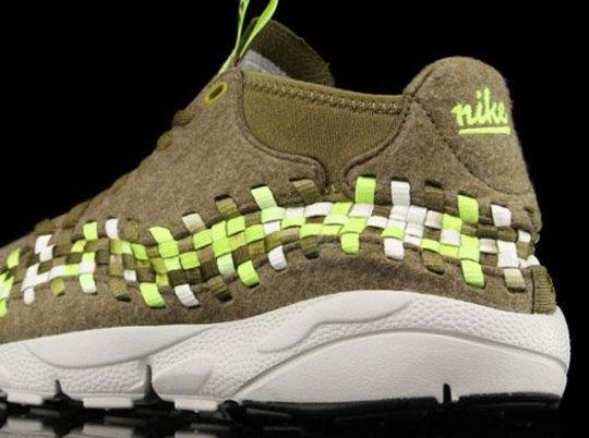 Nike Footscape Woven Chukka Motion – Raw Umber – Volt