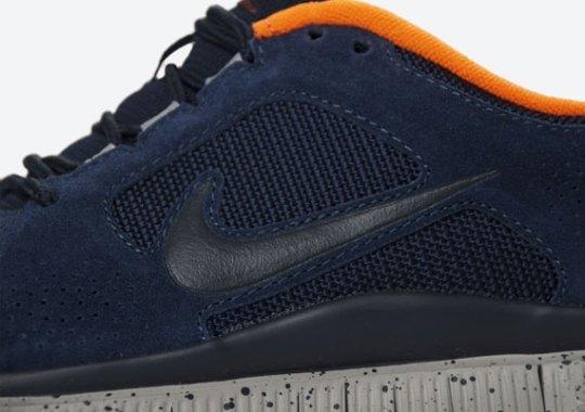3c5d9e62807 Nike Free Run+ 3 – Obsidian – Total Orange