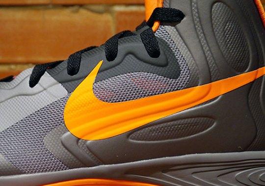 Nike Hyperfuse 2012 – Charcoal – Team Orange