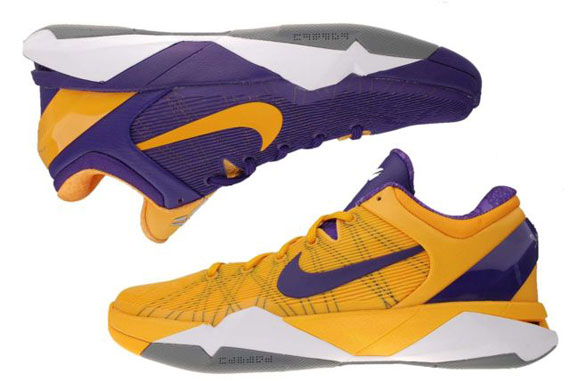 7091ed9d091f ... black court purple turquoise blue 488371 49373 bb751  closeout low cost  nike zoom kobe vii quot lakers yin yangquot available on ebay 7f11e 4dcf8
