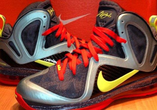 "reputable site 4cfe6 715de Nike LeBron 9 Elite ""Cannon"""