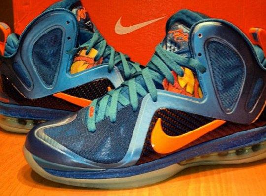 """Nike LeBron 9 Elite """"China"""""""