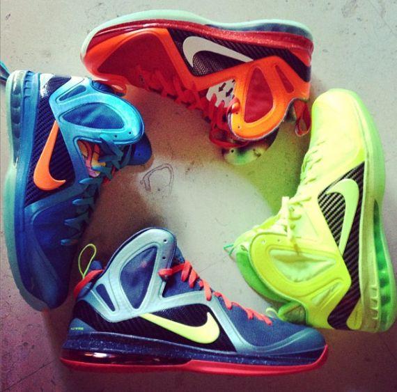 official photos 4435a 0fa84 hot sale Nike LeBron 9 Elite Unreleased Colorways