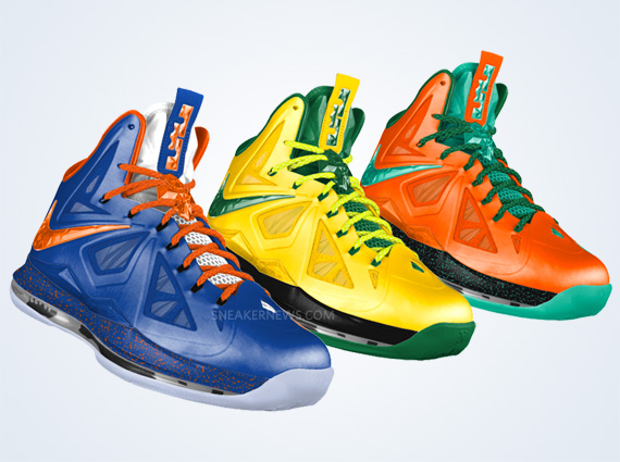 timeless design 05e04 1d5d4 Nike LeBron X+ iD – Available