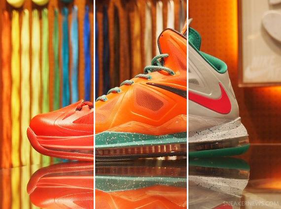Nike LeBron X iD Samples - SneakerNews.com 2afeabeedb