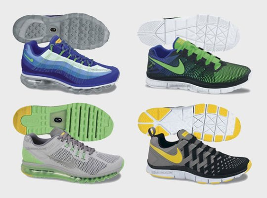 LIVESTRONG x Nike Summer 2013 Footwear Collection