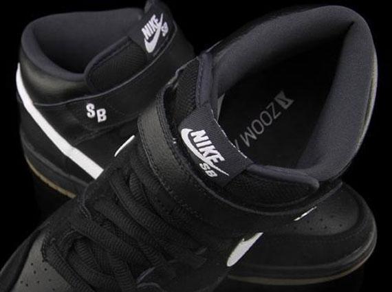 best loved 5ed0d d651c Nike SB Dunk Mid Pro – Black – White – Gum
