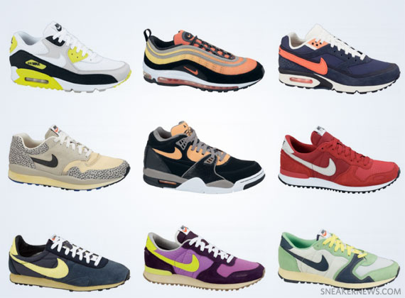 Nike Air Max 90 '25th Anniversary' Collection Preview Le