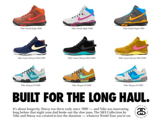 """Stussy x Nike Off Mountain System """"S&S Capsule"""""""