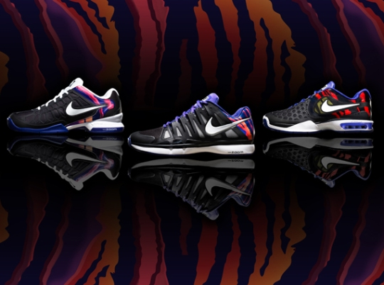 Nike Tennis Flame Collection