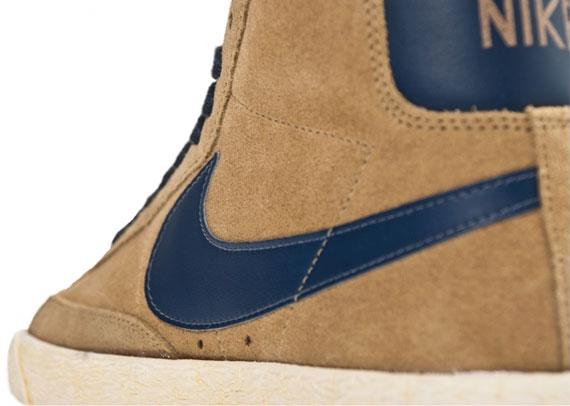 the latest 9d7a3 c4853 Nike WMNS Blazer Mid VNTG – Filbert – Thunder Blue