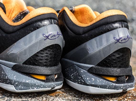 best website 3d45c 559f4 Nike Zoom Kobe VII – White – Purple – Gold   Arriving   Retailers