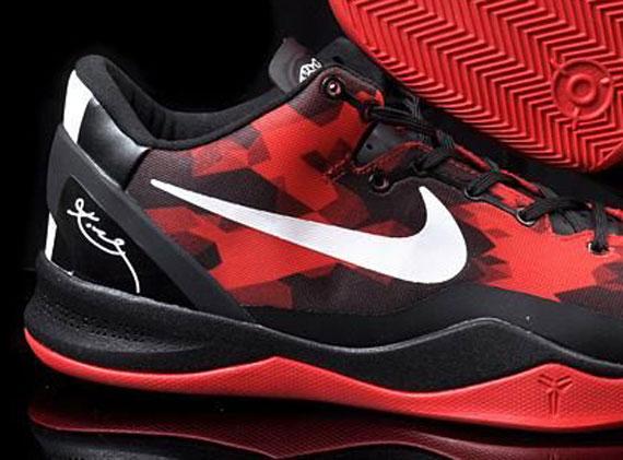 meilleur service 156b5 c9c3a Nike Zoom Kobe VIII - Red - Black - SneakerNews.com