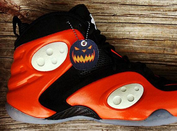 "Nike Zoom Rookie ""Rook O' Lantern"" Customs by AF1King"