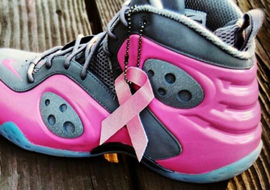 """Nike Zoom Rookie """"Think Pink"""" Customs by AF1King"""