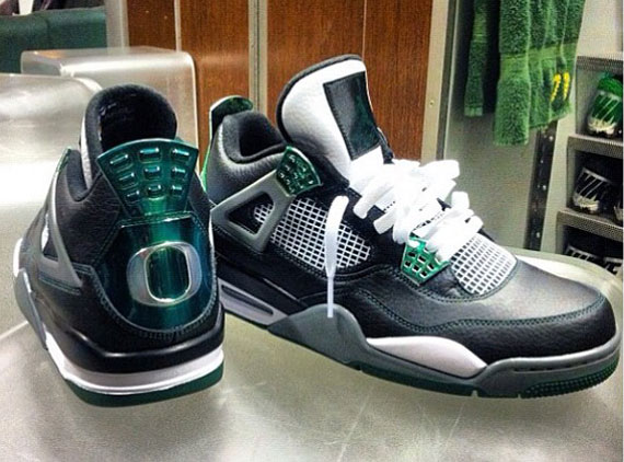 air jordan 4 retro oregon ducks